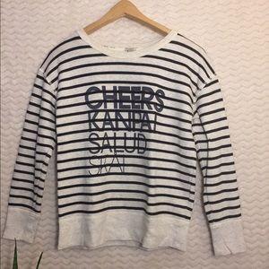 J. Crew Sweater shirt 🥂